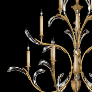 BEVELED ARCS - FINE ART HANDCRAFTED LIGHTING